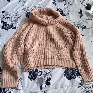 Ivy + Main blush turtleneck sweater